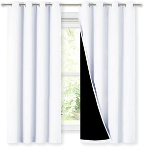NICETOWN Blackout Lined Curtains