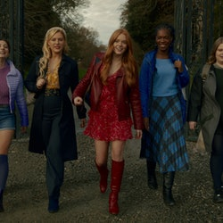 The cast of Fate: The Winx Saga via the Netflix press site