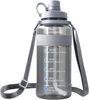 SHARLOVY Water Bottle with Hourly Tracker