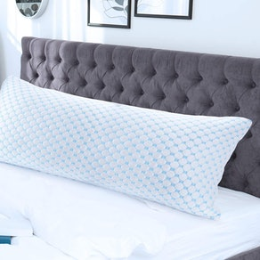 Nestl Bedding Gel Infused Coolest Body Pillow