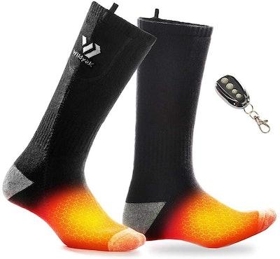 WILDYAK Heated Socks with Remote Control