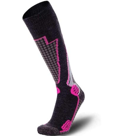 PureAthlete Store High Performance Wool Ski Socks