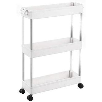 SPACEKEEPER 3 Tier Slim Storage Cart