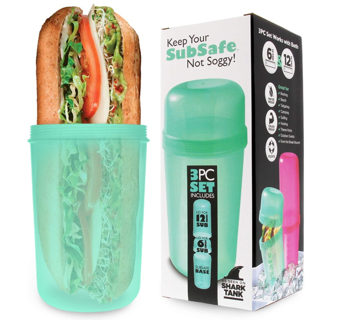 SubSafe Sandwich Container