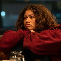 Rue in 'Euphoria's first special episode.