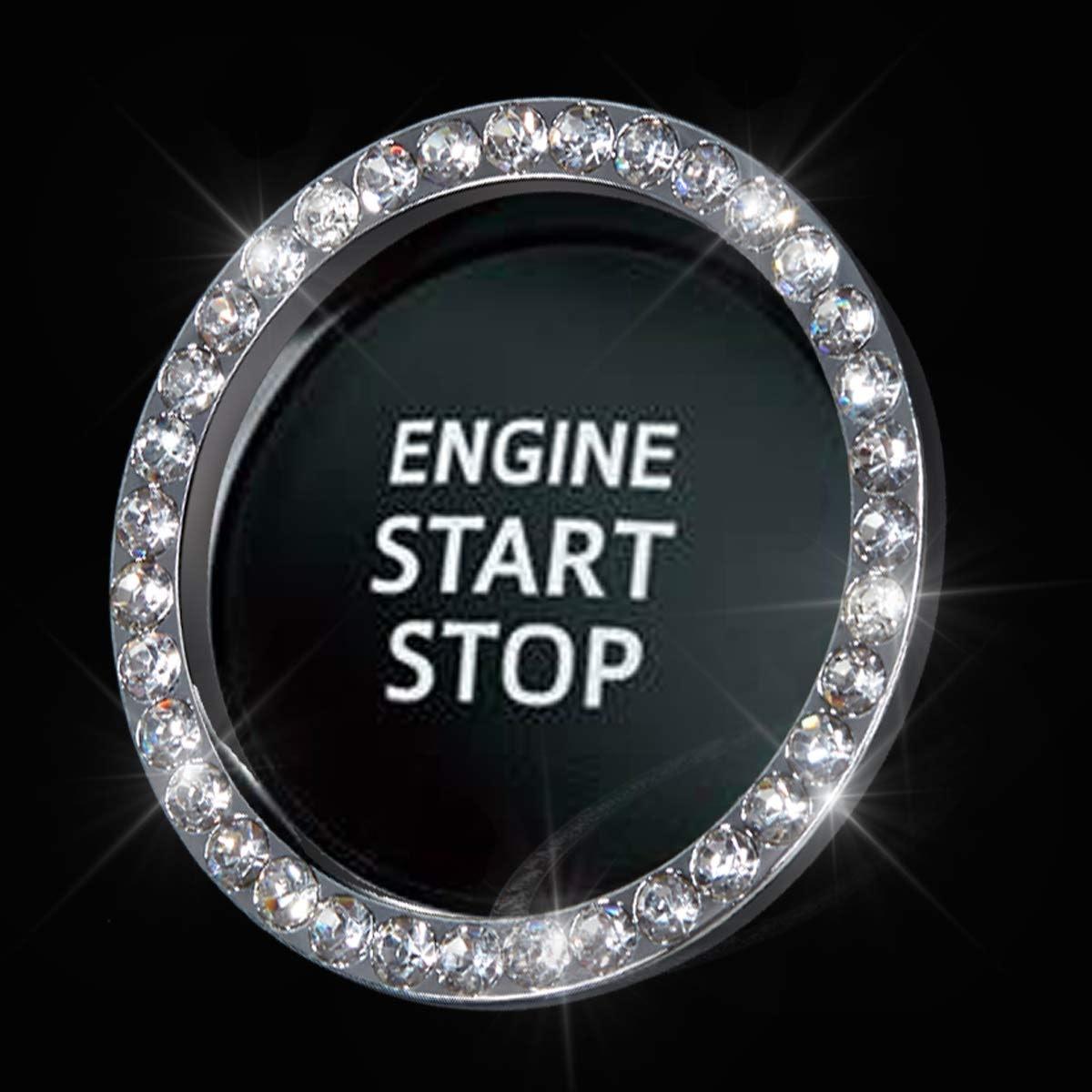 Shering Ignition Button Ring Emblem