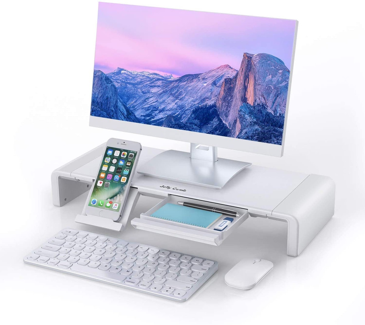 Jelly Comb Foldable Computer Monitor Riser