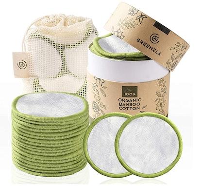 Greenzla Reusable Cotton Pads (20-Pack)