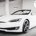 Italian automotive engineering firm Ares Design created a Tesla Model S convertible.