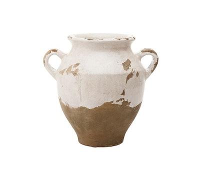 Tuscan Handcrafted Terra Cotta Urn
