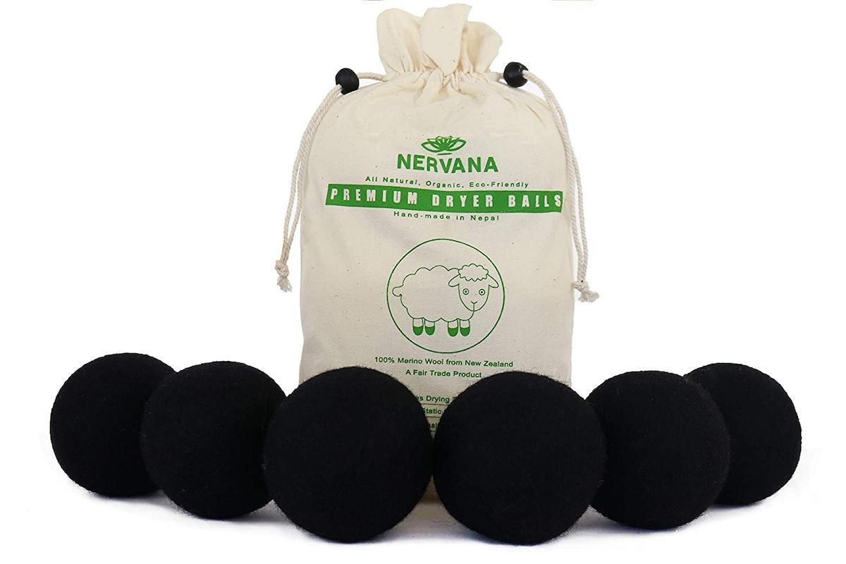 NERVANA Wool Dryer Balls (6-Pack)