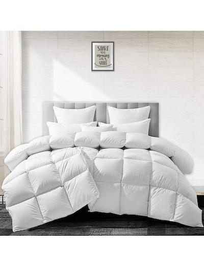 APSMILE Heavyweight European Goose Down Comforter