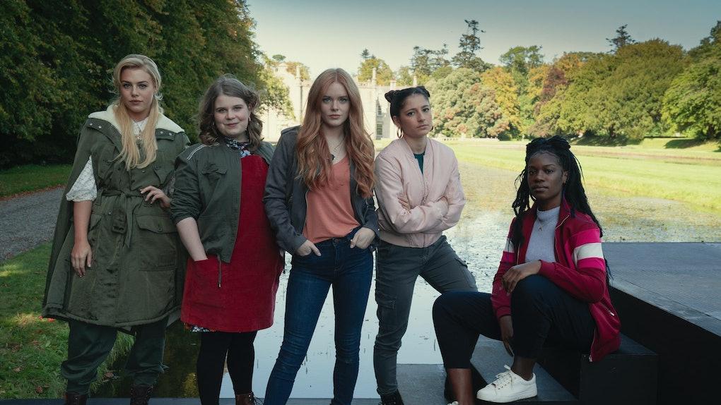 The cast of Fate: The Winx Saga.