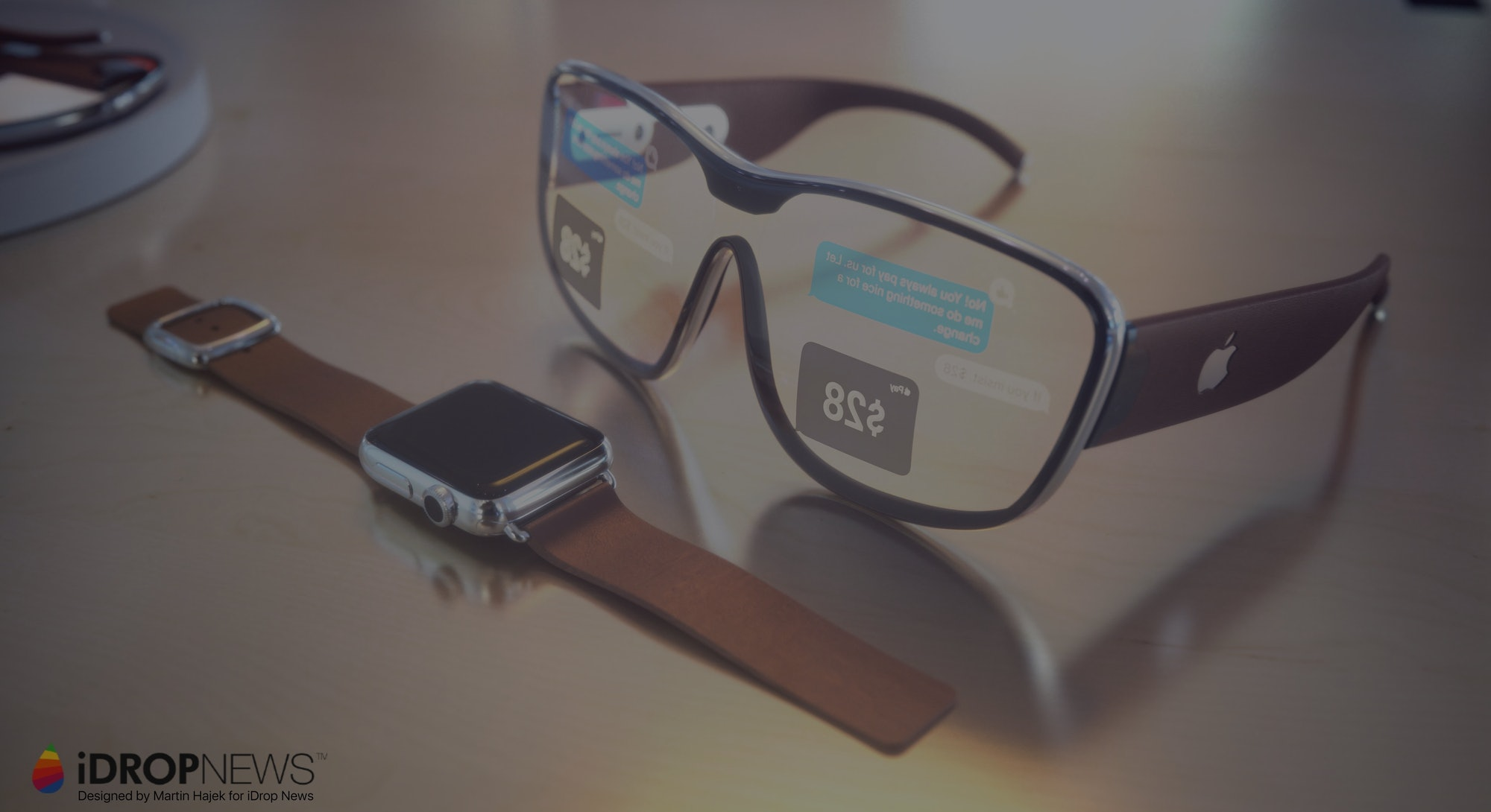 Apple AR glasses concept