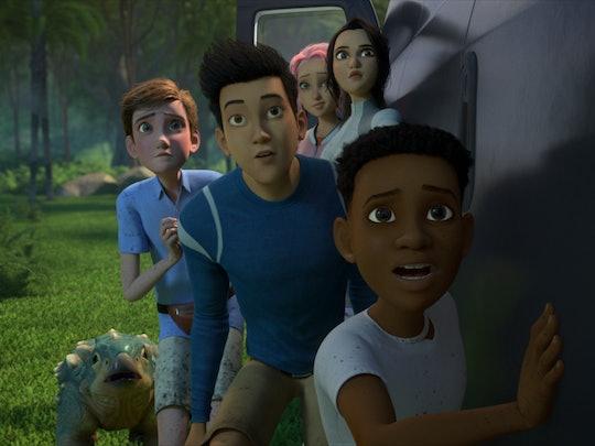 The Camp Cretaceous cast via the Netflix press site