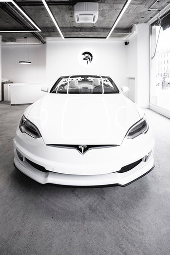 Ares Design converted a Tesla Model S into a convertible.