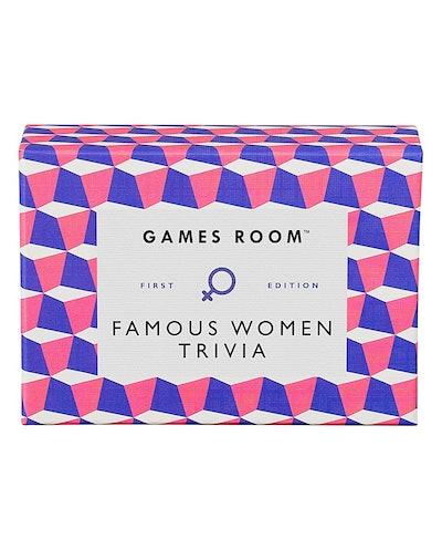Famous Women Trivia Game