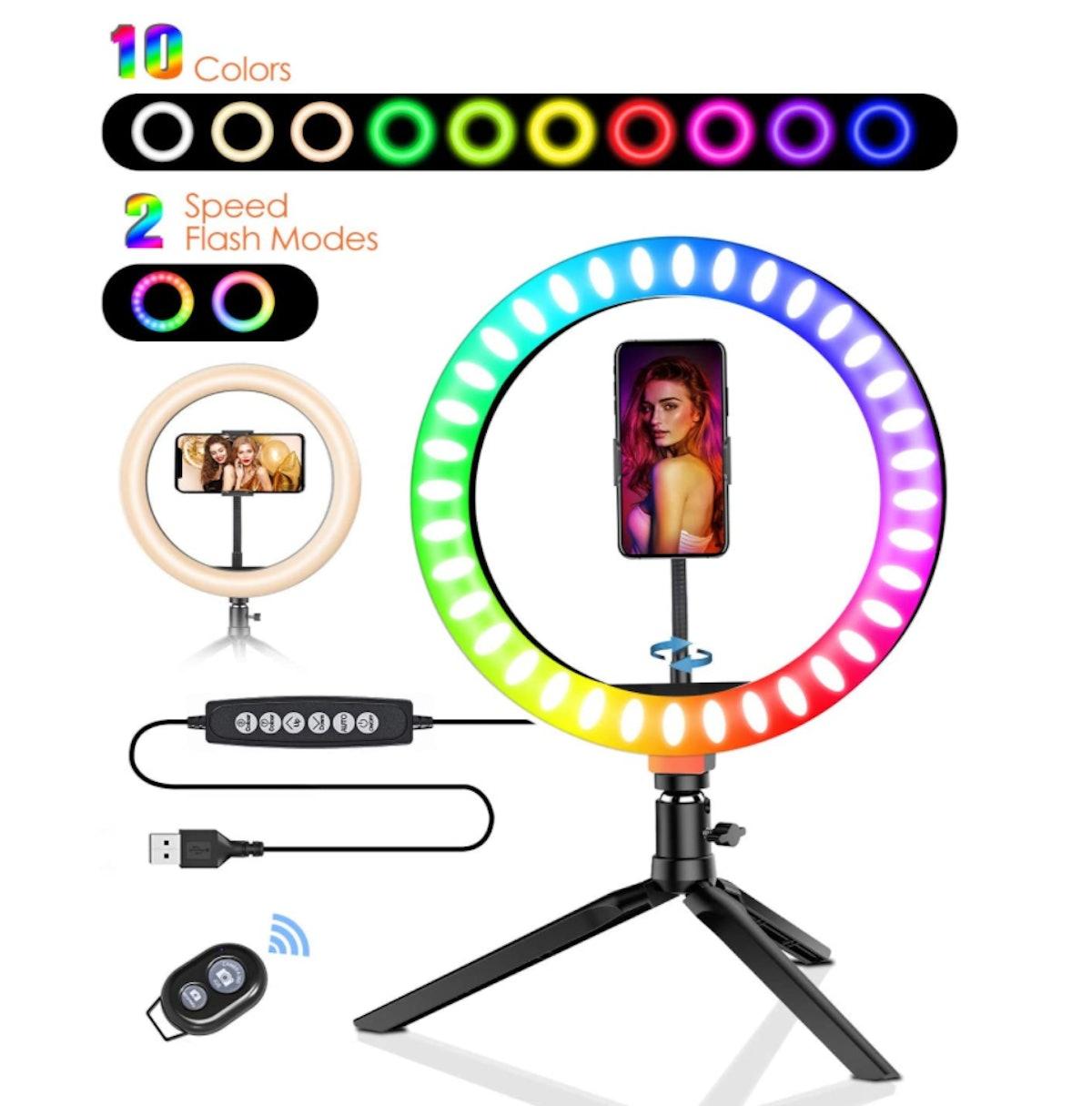 BlitzWolf Selfie Ring Light