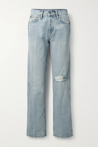 '90s Distressed Jeans