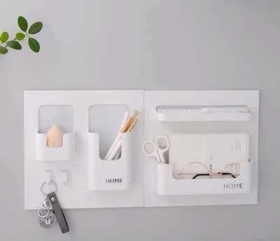 LittleMU Bedside Shelf Organizer
