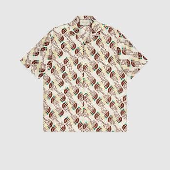 The North Face Gucci Silk Shirt