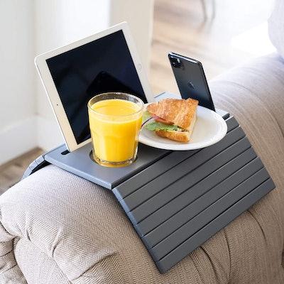 Designer Dacor Sofa Arm Tray Table