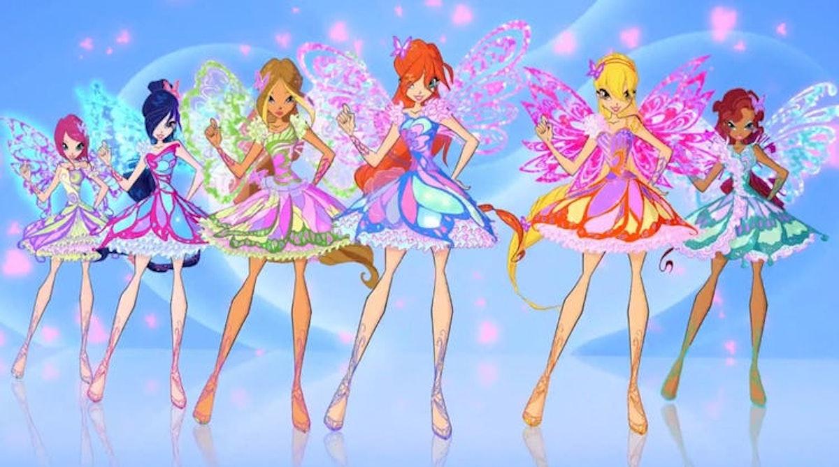 The original Winx Club characters.