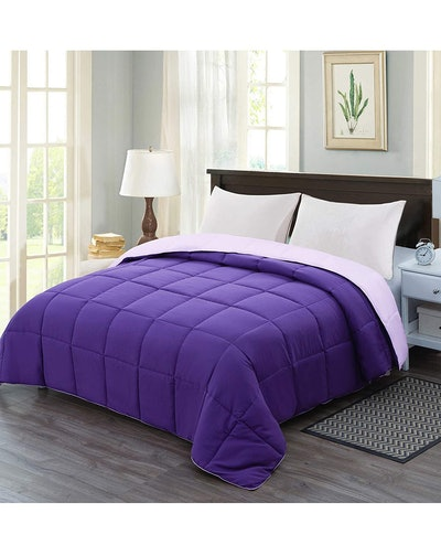 Homelike Moment Reversible Lightweight Comforter