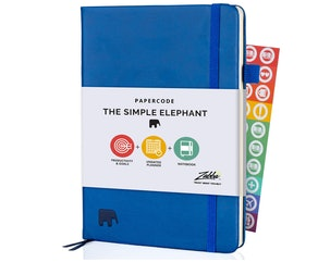 Simple Elephant Undated Planner 2021-2022