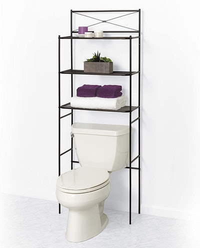 Zenna Home Over The Toilet Bathroom Spacesaver