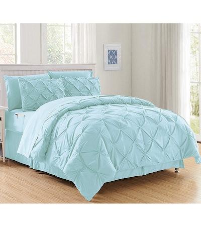 Elegant Comfort Bed-In-A-Bag Comforter Set (8 Pieces)