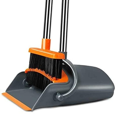 Chouqing Self-Cleaning  Dust Pan and Broom