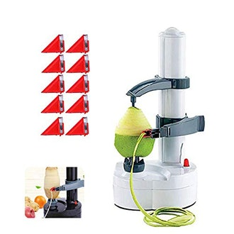Quvivior Electric Rotato Peeler with 10 Replacement Blades
