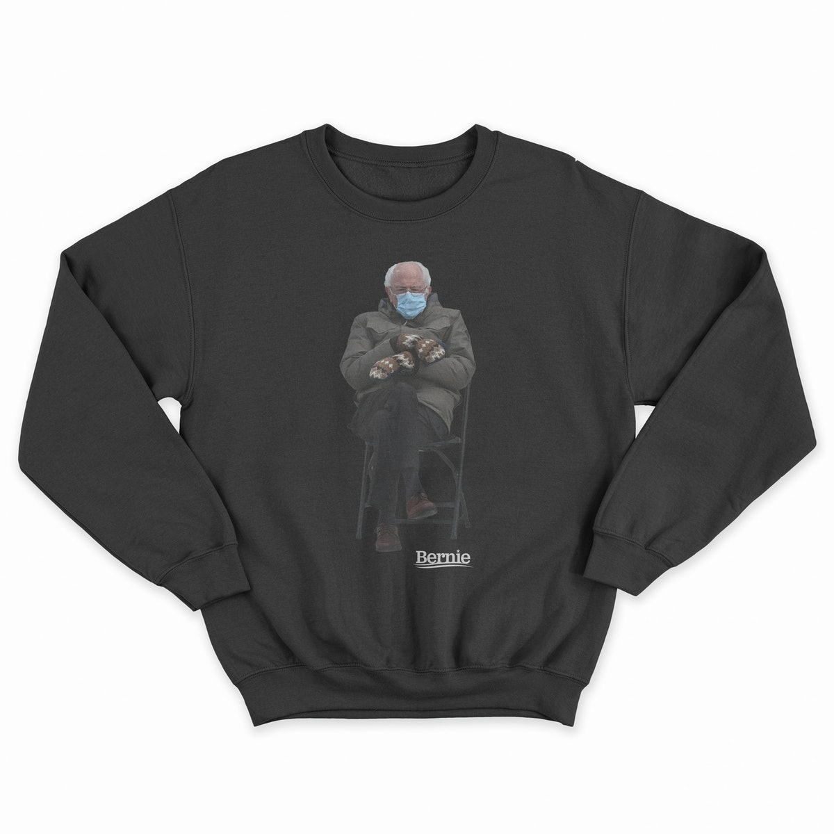 Bernie Sanders' inauguration meme sweatshirt launched for charity.
