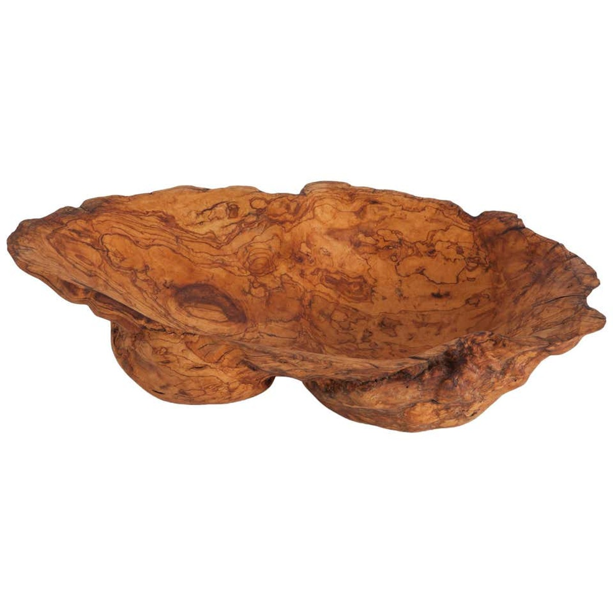 Natural History Wabi Sabi Olivewood Bowl or Sink