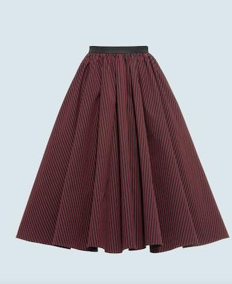 Armuré Stripe Skirt