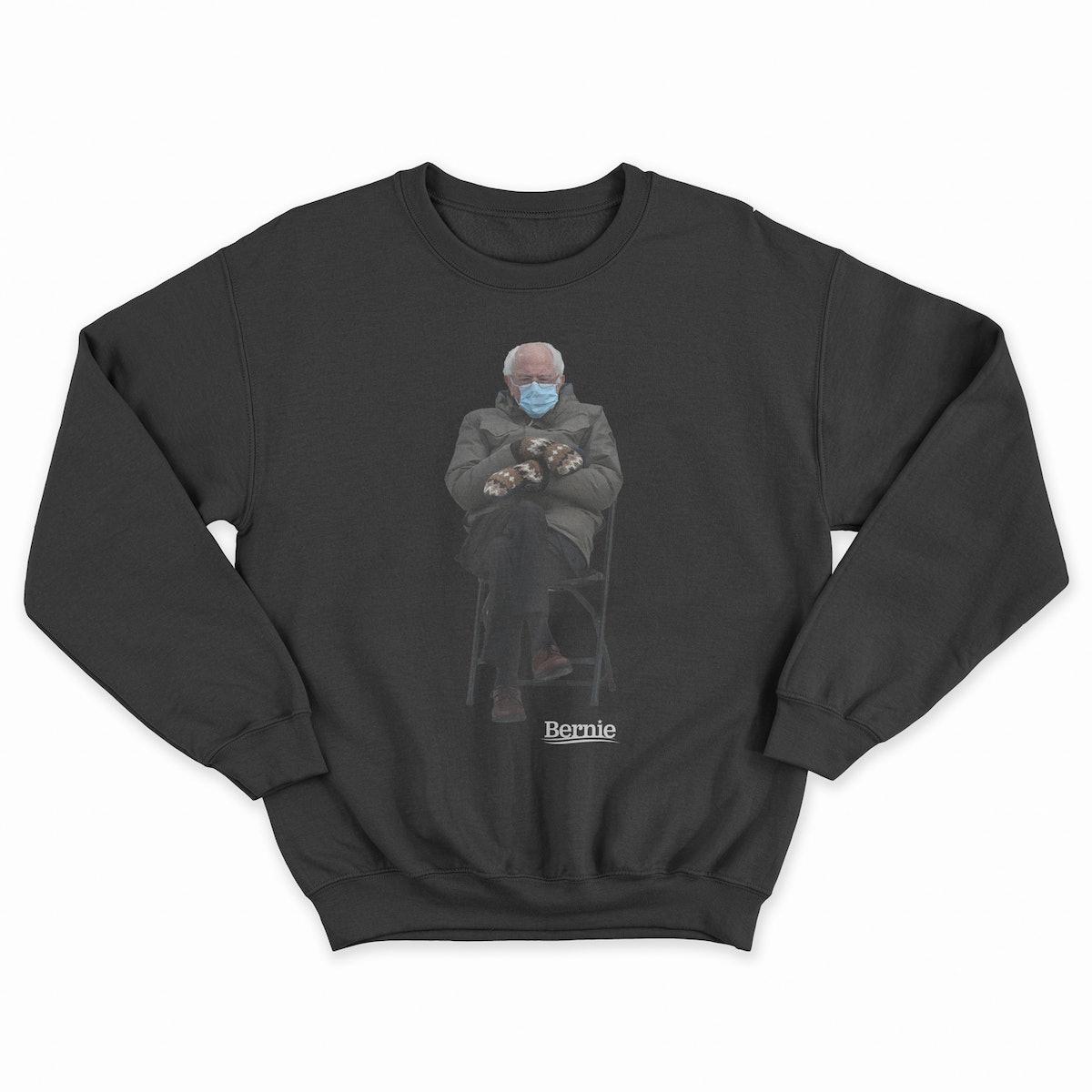 The Bernie Sanders' inauguration meme sweatshirt proceeds went to charity.