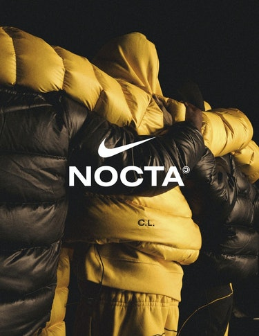 "Drake's ""NOCTA"" brand, created in collaboration with Nike."