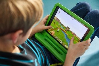minecraft kid ipad screentime