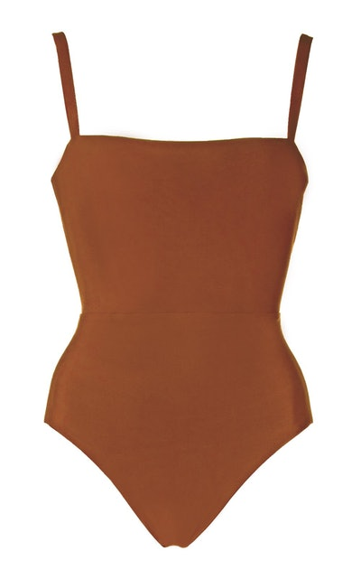 The Square Neck Maillot One-Piece