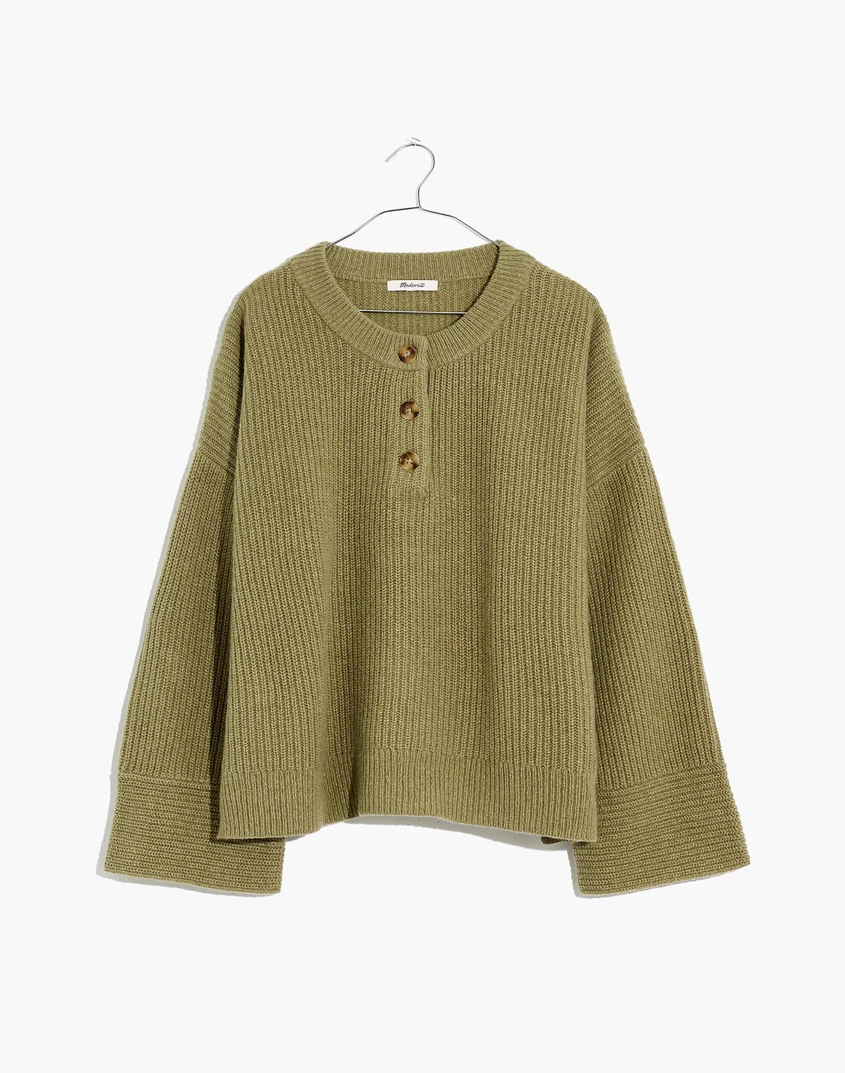 (Re)sourced Henley Sweater