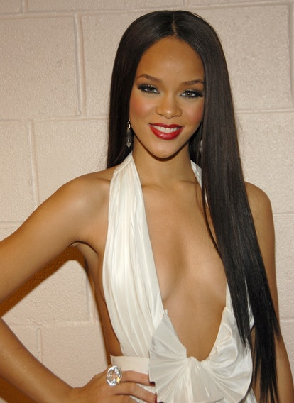 Rihanna at the Billboard Music Awards in 2006.