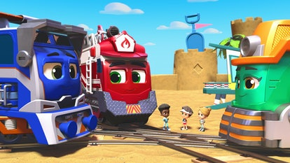 The second season of the Netflix animated series 'Mighty Express' will debut on Feb. 2.