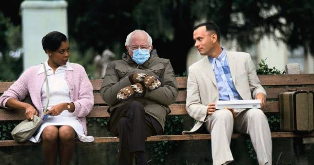 Science tells us why the Bernie meme went mega-viral