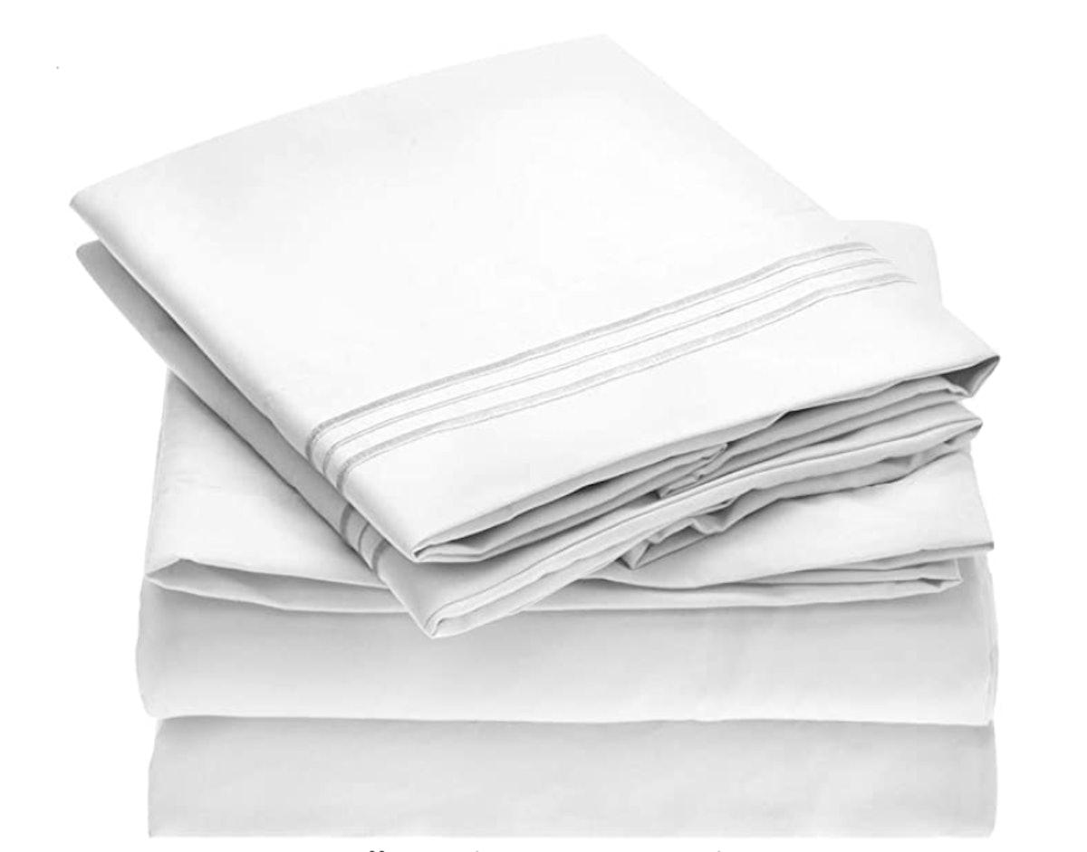 Mellanni Microfiber Sheets (4-Pieces)