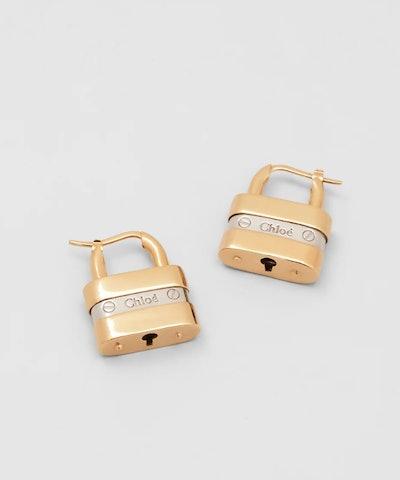 Colleen Padlock Earrings