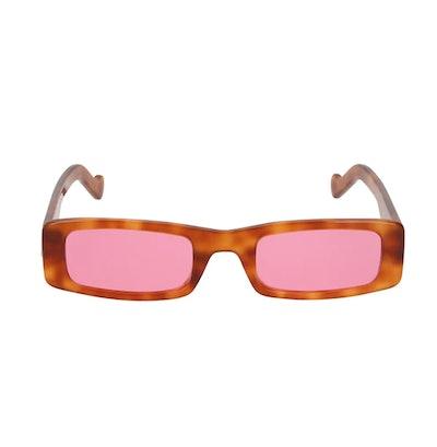 Trouble 52MM Rectangular Sunglasses