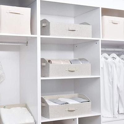 StorageWorks Closet Baskets (Set of 3)
