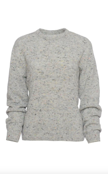 Cashmere Sweater with Crew Neck