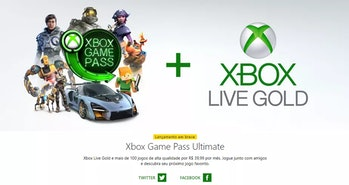 xbox live gold game pass ultimate ad